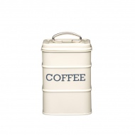 Pojemnik na kawę Kitchen Craft Living Nostalgia kremowy