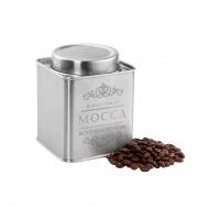 pojemnik na kawę, satynowa stal, 250 g