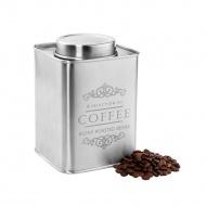 pojemnik na kawę, satynowa stal, 500 g