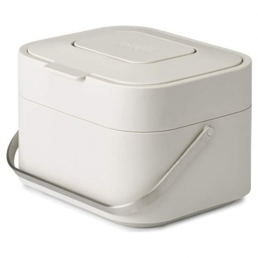 Pojemnik na odpady organiczne z filtrem Joseph Joseph Intelligent Waste Stack beżowy