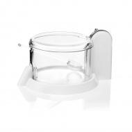 Pojemnik na parmezan z łyżeczką 15cm Forme Casa biały