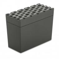 Pojemnik na pieczywo chrupkie 9x18 cm Koziol BROD ciemny szary KZ-3042665
