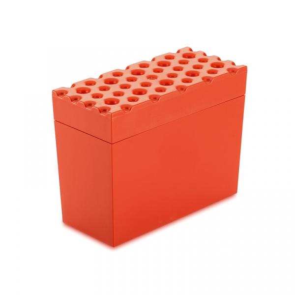 Pojemnik na pieczywo chrupkie Koziol BRoD pomarańczowo-czerwony KZ-3042633
