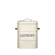 Pojemnik na proszek do prania Kitchen Craft Living Nostalgia kremowy