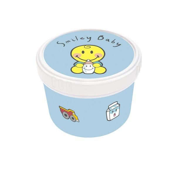 Pojemnik na przekąski dla chłopca 8,5 cm Zak! Design Smiley 6725-1370