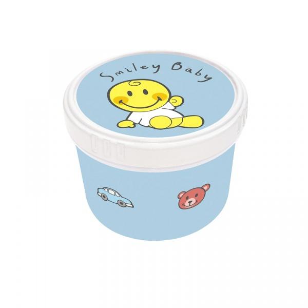 Pojemnik na przekąski dla chłopca 8,5 cm Zak! Design Smiley 6725-1372