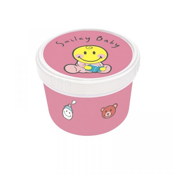 Pojemnik na przekąski dla dziewczynki 8,5 cm Zak! Design Smiley 6726-1372