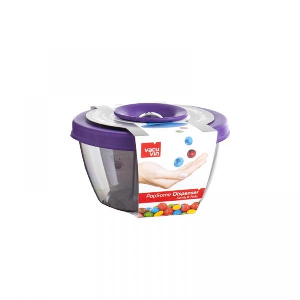 Pojemnik na przekąski Tomorrows Kitchen Popsome fioletowy VV-2830860