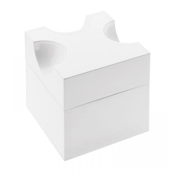 Pojemnik na ser z tarką Koziol Piece of Cheese biały KZ-3052525