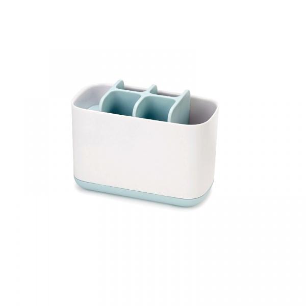 Pojemnik na szczoteczki do zębów duży 16,8x8,4x12,6cm Joseph Joseph EasyStore™ biało-błękitny 70501