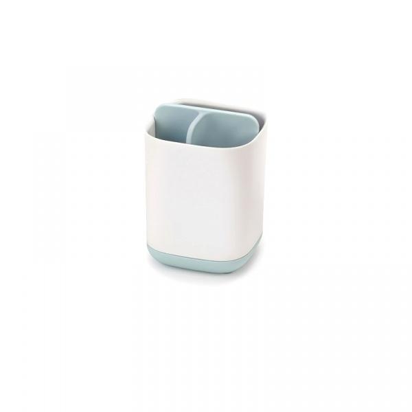 Pojemnik na szczoteczki do zębów mały 8,4x8,4x12,7cm Joseph Joseph EasyStore™ biało-błękitny 70500
