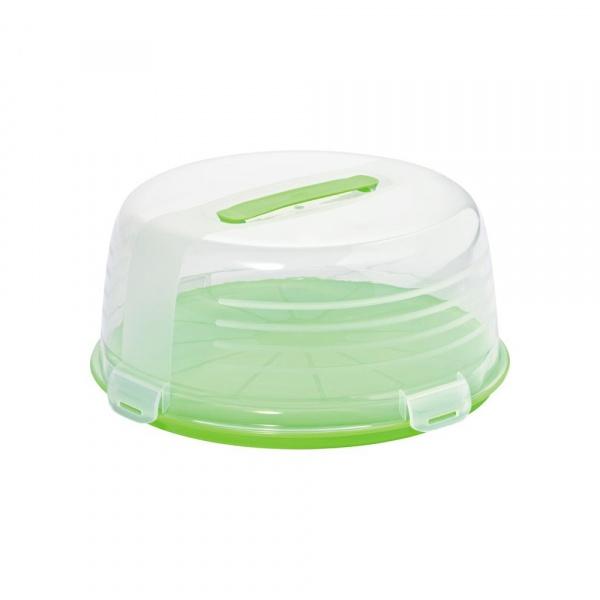Pojemnik na tort Curver zielony CUR-194622