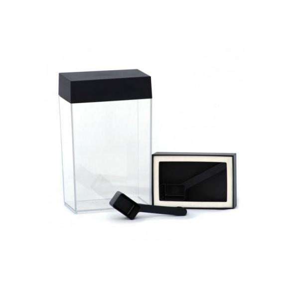 Pojemnik prostokątny 1,25L O'lala Salt czarny OL-216