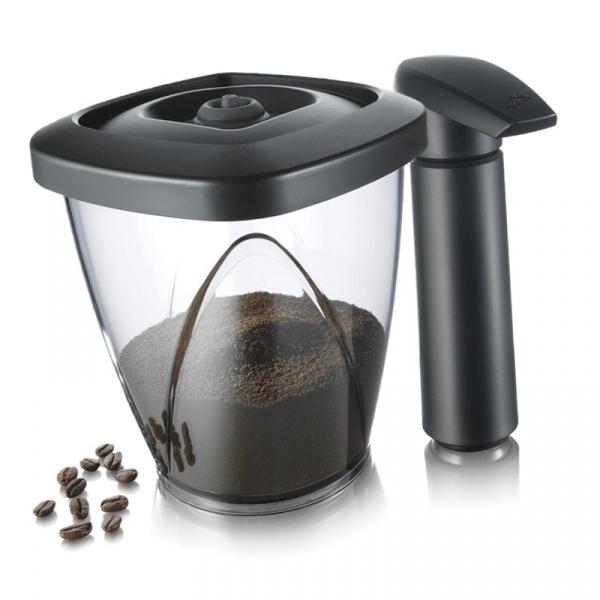 Pojemnik próżniowy na kawę lub herbatę z pompką Tomorrows Kitchen 1,3l TK-2883460