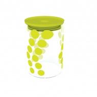 Pojemnik szklany 0,9 L Zak! Design zielony