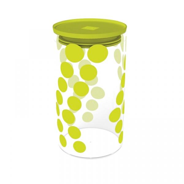 Pojemnik szklany 1,1 L Zak! Design zielony 0204-870