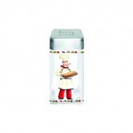 Pojemnik szklany z pokrywą na sól Nuova R2S Glass Collection piekarz