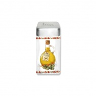 Pojemnik szklany z pokrywą na sól Nuova R2S Glass Collection