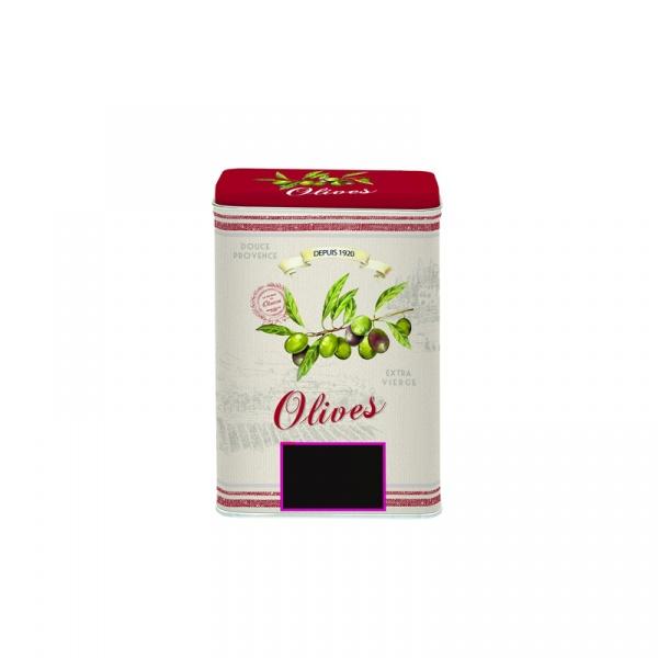 Pojemnik z pokrywką 8,5x6x12cm Nuova R2S Bistrot Olives 089 OLIV