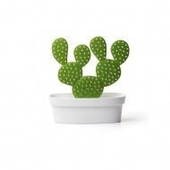 Pojemnik z wieszakiem na akcesoria Caccessories kaktus biało-zielony 10281-WH-GN