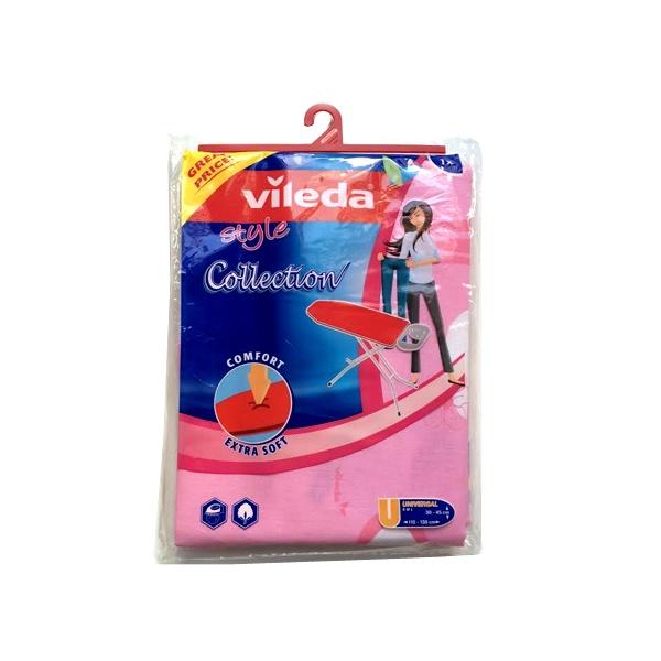 Pokrowiec na deskę do prasowania Viva Express Collection Vileda różowy 4023103116368