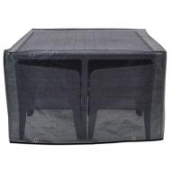 Pokrowiec na kwadratowy zestaw mebli Columbia 120x120x80 cm