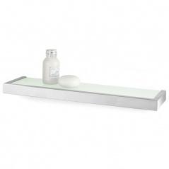 Półka łazienkowa szklana 46,5 cm Zack Linea