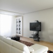 Półka pod TV z maskownicą Ghost Design 2000 Meliconi carbon 488067