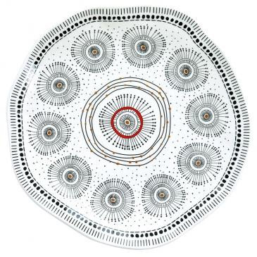 Półmisek z porcelany 30 cm Nuova R2S Organic