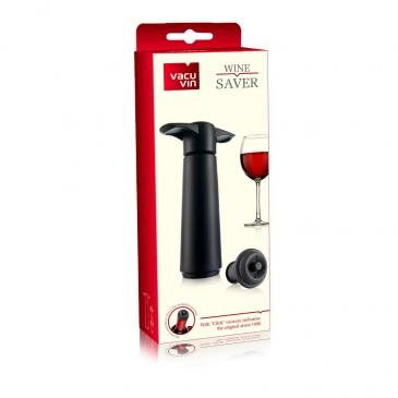 Pompka do wina czarna (o.p.: pompka i 2 korki)