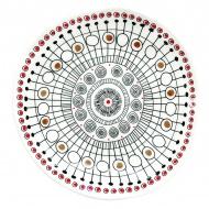 Porcelanowe naczynie na przystawki 16 cm Nuova R2S Organic