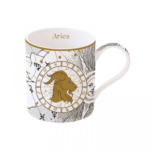 Porcelanowy kubek Baran 350ml Nuova R2S Zodiac 282 ZOAR