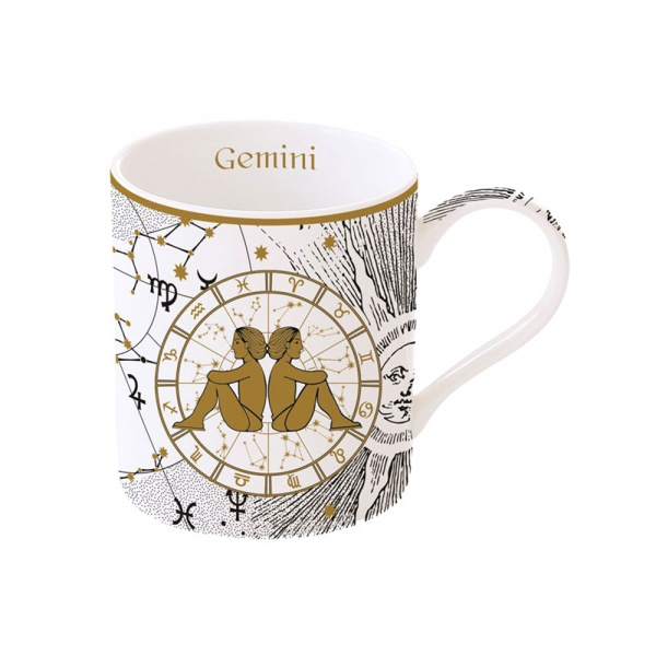 Porcelanowy kubek Bliźnięta 350ml Nuova R2S Zodiac 282 ZOGE