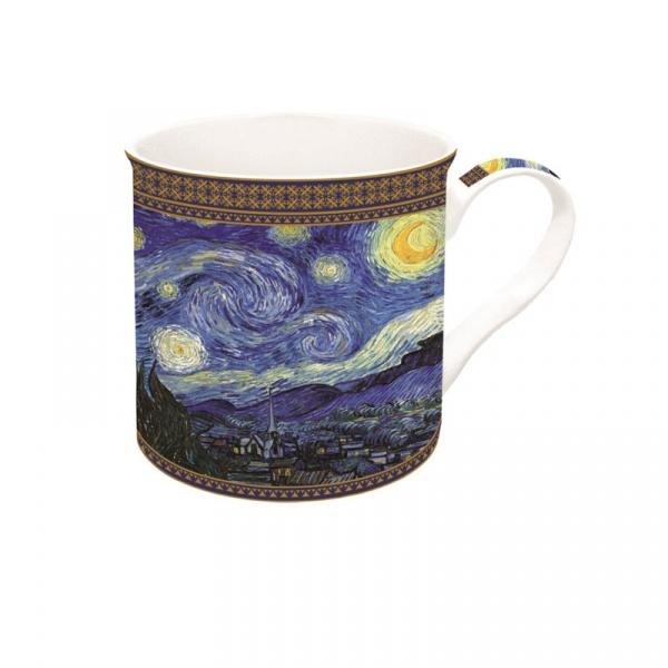 Porcelanowy kubek w opakowaniu 300ml Nuova R2S Art Masterpiece Van Gogh  170 VAN4