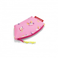 Portmonetka coin purse kids abc friends pink