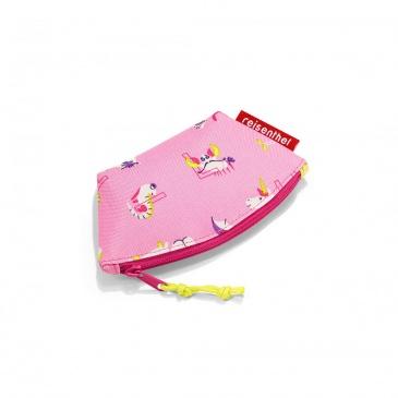Portmonetka coin purse kids abc friends pink