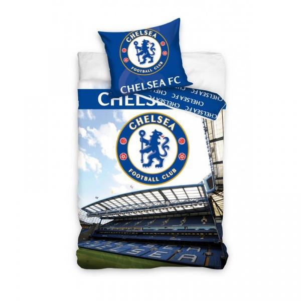 Pościel 160 x 200 cm Carbotex Chelsea Fotball Blux stadion CFC8005