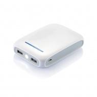 Powerbank 10.8x7.5 x2.2 cm XD design biały