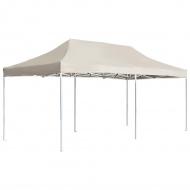 Profesjonalny, składany namiot imprezowy, 6 x 3 m, kremowy