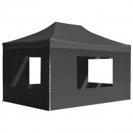 Profesjonalny, składany namiot imprezowy ze ścianami, 4,5 x 3 m