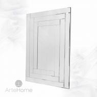 Prostokątne lustro dekoracyjne w ramie lustrzanej Penelopa 120x80cm