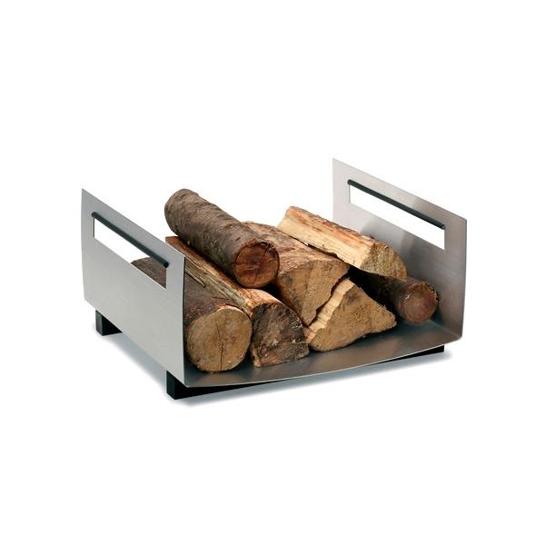 Prostokątny pojemnik na drewno Blomus Chimo 65140