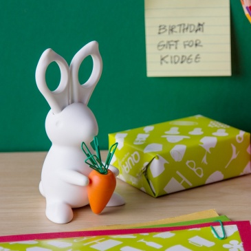 Przybornik biurowy królik Bunny biały 10115-WH