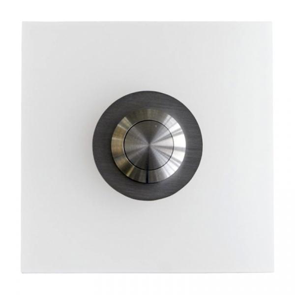 Przycisk dzwonka Max Knobloch Stoke Poly biały STOKEPOLY_BIALY