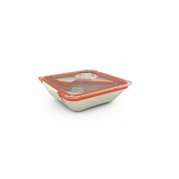 Pudełko na lunch Black+Blum Bon Appetit biało-pomarańczowe BA003