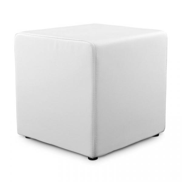 Pufa Rubik Kokoon Design biały LS00250WH