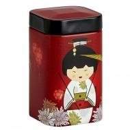 Puszka na herbatę 100g Eigenart Kimono czerwona