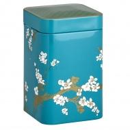 Puszka na herbatę 100g Eigenart Kwiat Wiśni turkusowa