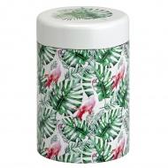 Puszka na herbatę 125g Eigenart Dżungla flamingów