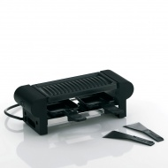 Raclette / grill stołowy dla 2 osób 29,5x10x10 cm Kela czarny